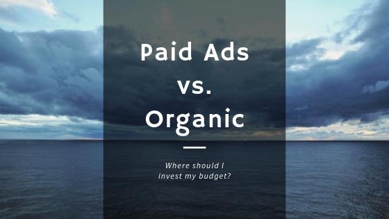 paid vs organic main banner